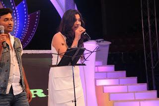 Geetha madhuri performance at ttv launch 018.jpg