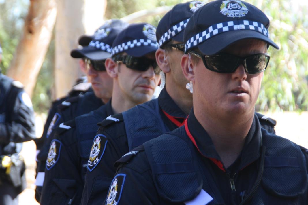 police invasion