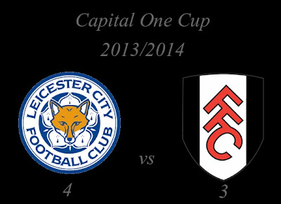 Leicester City vs Fulham Capital One Cup 20132014