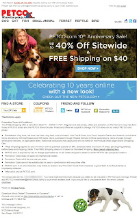 Click to view this Feb. 27, 2011 Petco email full-sized
