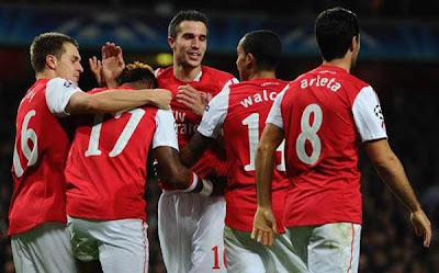 Arsenal 2 - 1 Borussia Dortmund (1)