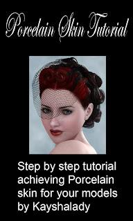 Porcelain skin tutorial
