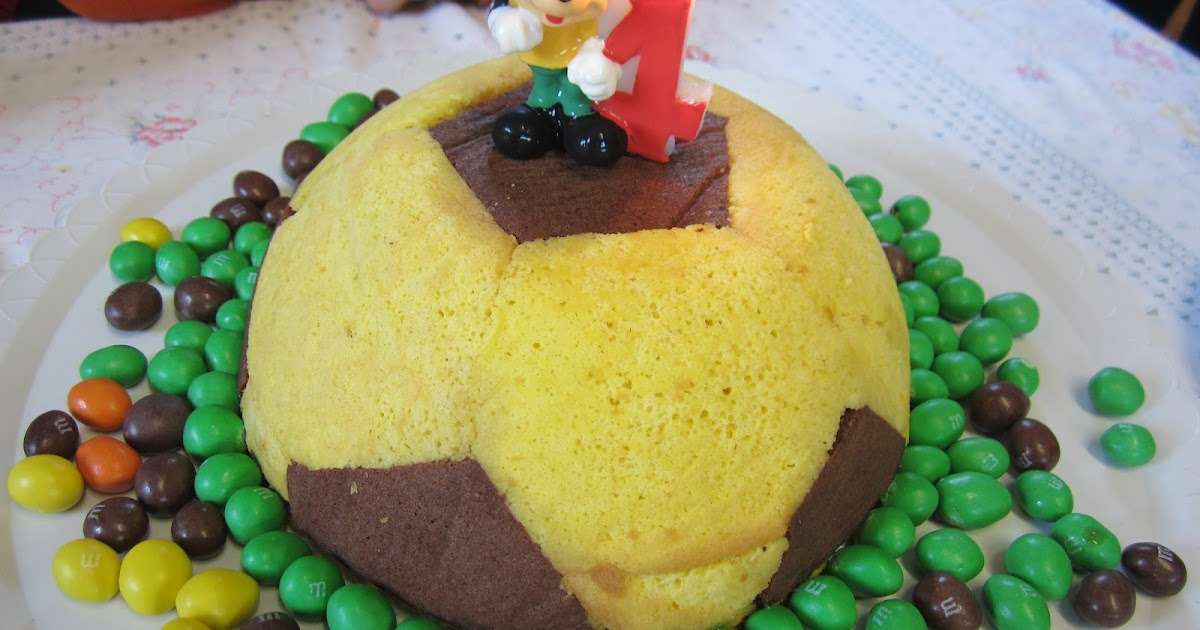 Cocinando para ellos tarta balon de futbol - Cocinando para ellos ...