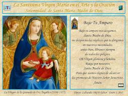 . Arte y Oración. Santa María, Madre de Dios. 1°/Enero/2015