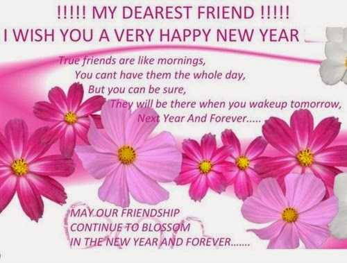 Best New Year Pictures With Messages For Friends 2015