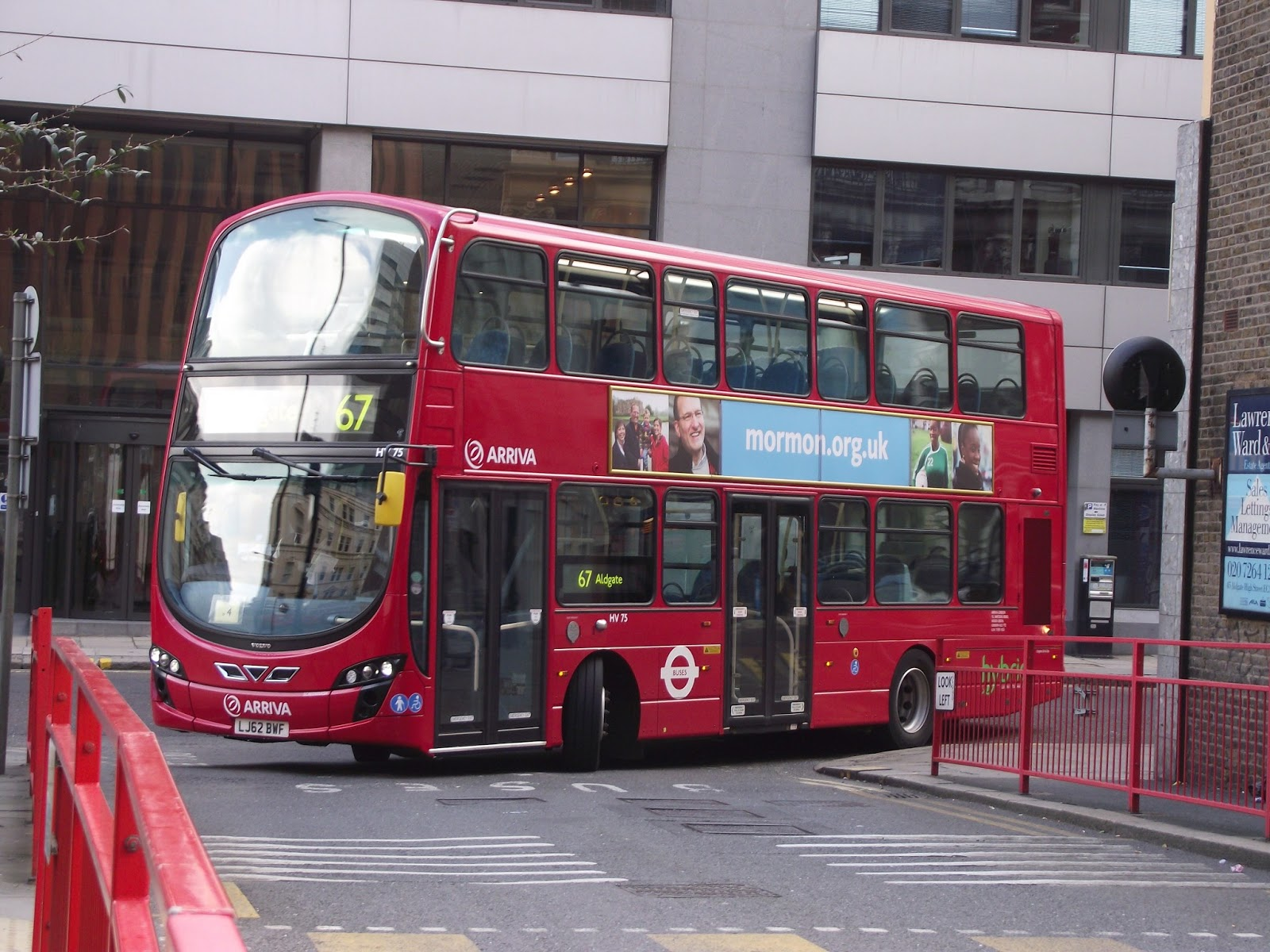 Tom London & Surrey Bus Blog: Route 67 Observations