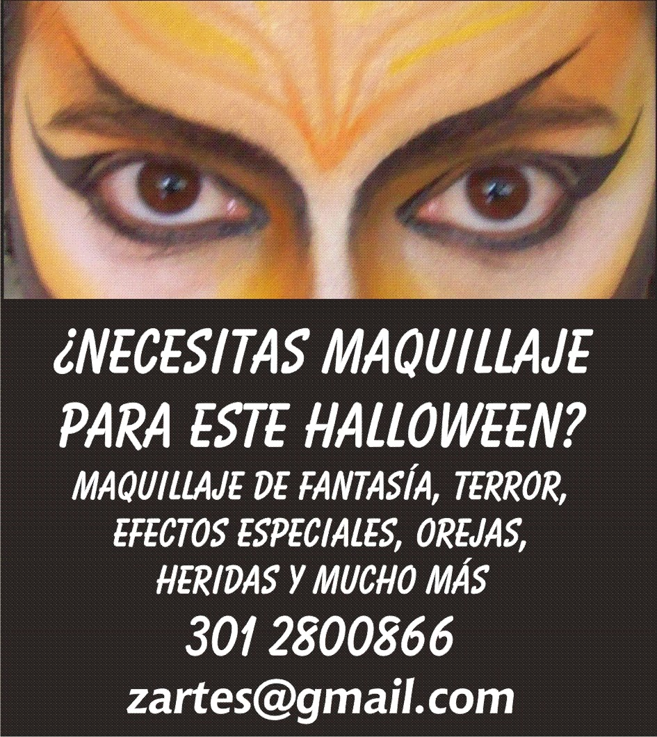 Maquillaje Profesional Buscando Maquillaje Para Halloween 2015 - Maquillaje-profesional-halloween