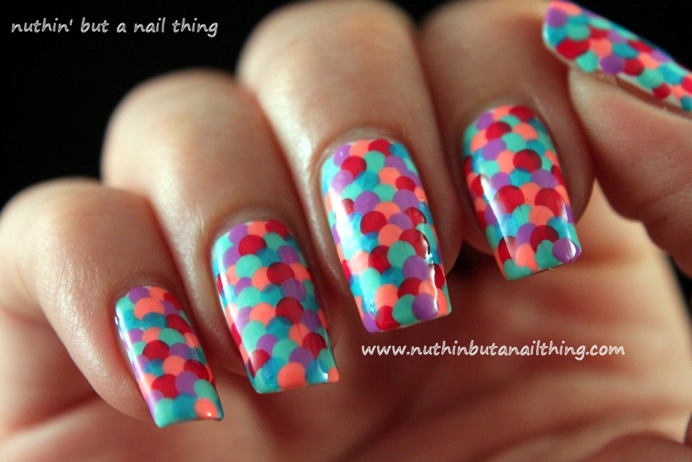 Nuthin but a nail thing fishscale nail tutorial fishscale nail tutorial fishscale nail tutorial prinsesfo Images