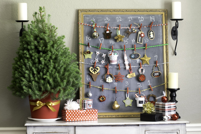 DIY Christmas Advent Calendars