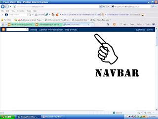 Navbar blog, navbar, Cara Menyembunyikan Navbar Blog, menghilnagkan navbar blog