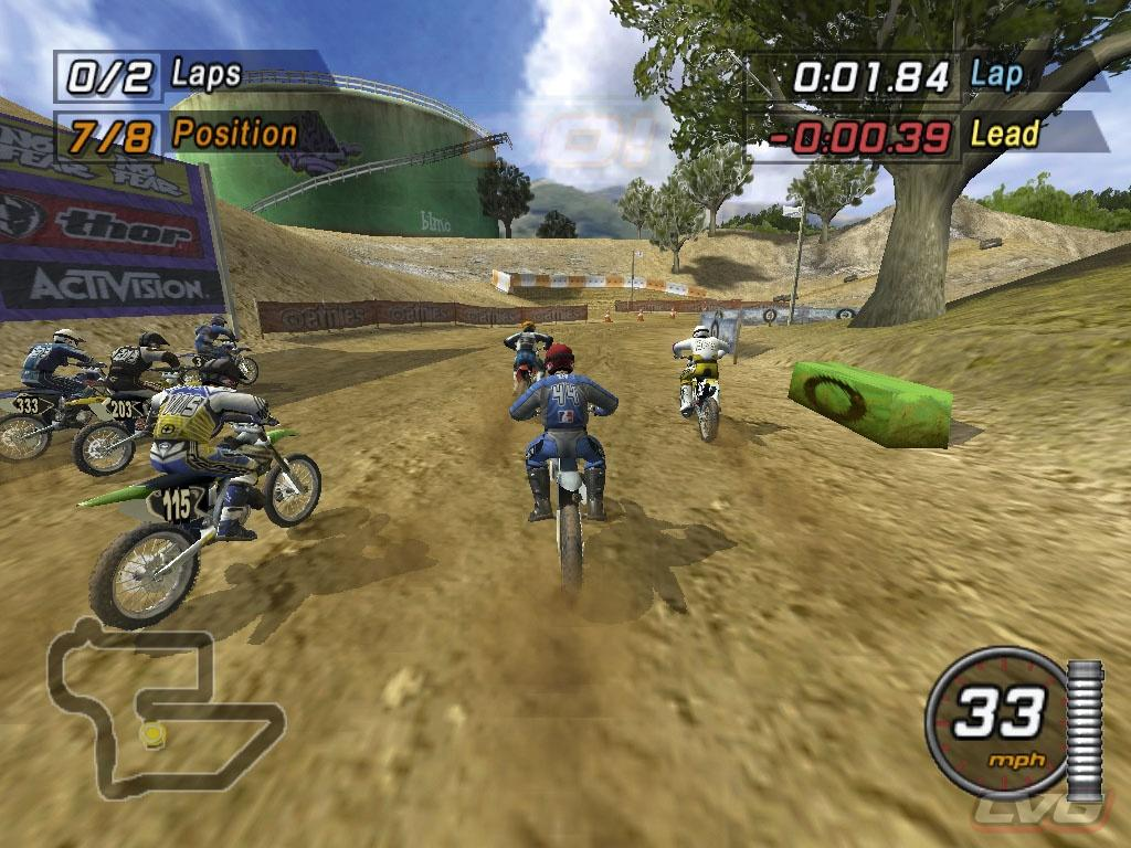 A Game For Free : Free download game mtx mototrax motocross pc rip eng