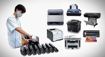đổ mực máy photocopy samsung
