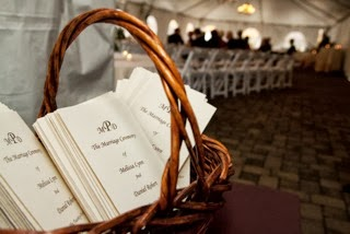 Ceremony Programs