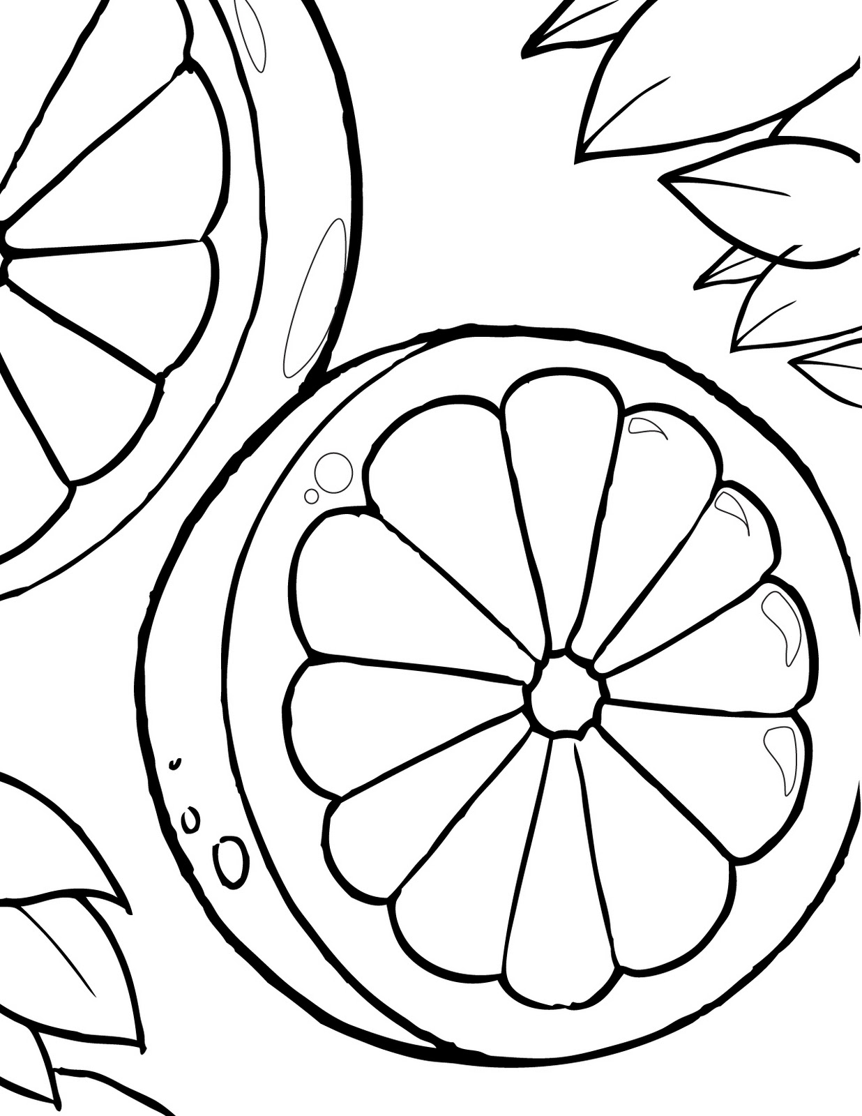 Orange Fruit Coloring Pages http://free-coloring-pages-kids.blogspot.com/2012/01/13-fruit-orange-coloring-books-for.html