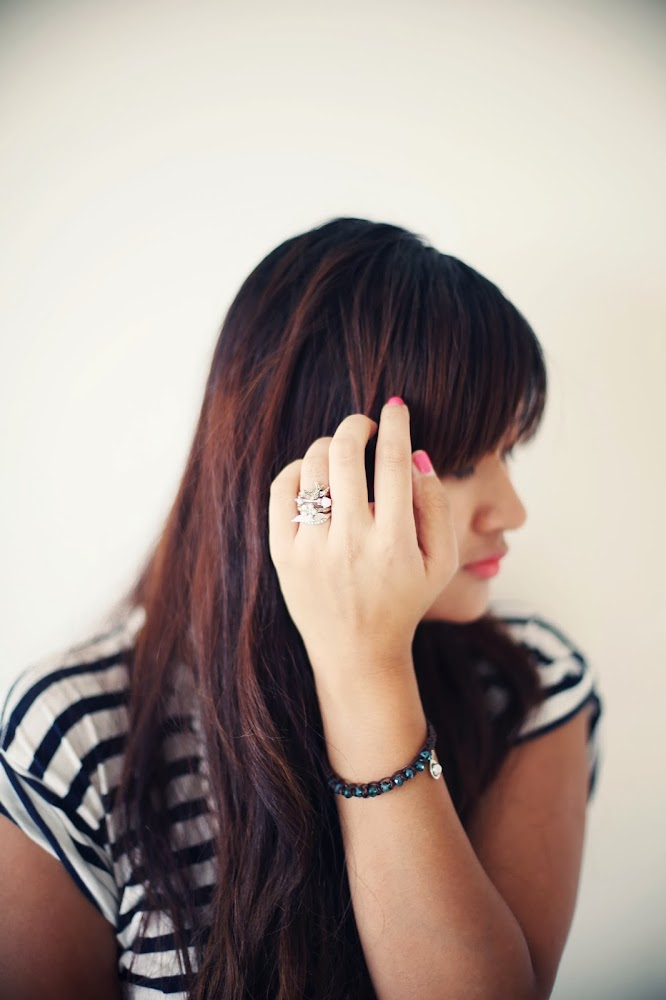 Cynthier Jewellery When Doves Cry Stack Rings