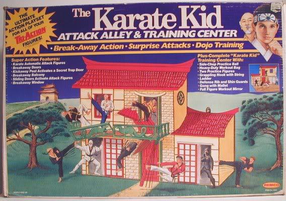 Karate Kid Attack Alley Training Center