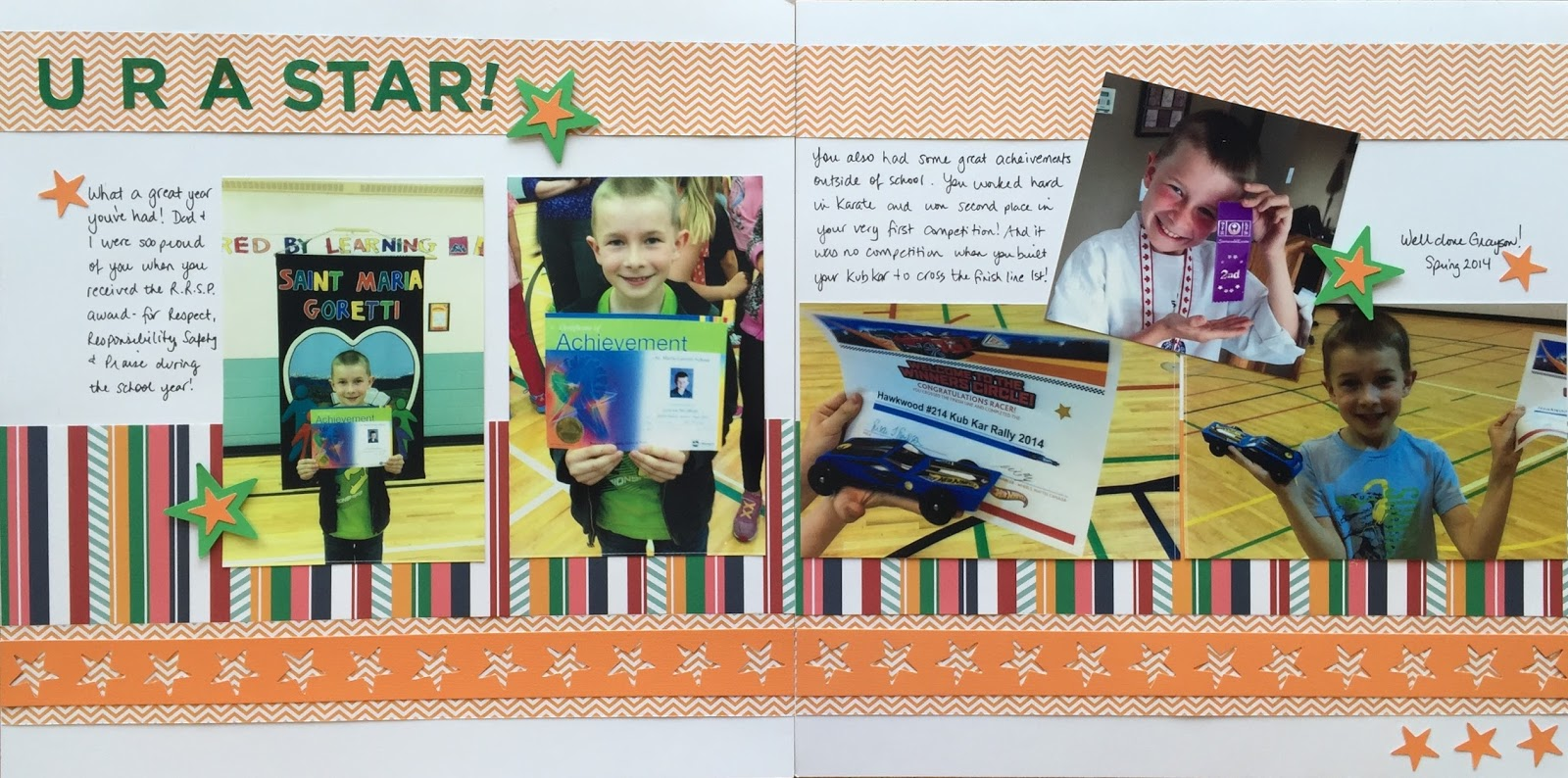 Abc scrapbook ideas list - A Year To Remember Paper Pack Watercolor Green Abc 123 Stickers Star Border Maker Cartridge Border Maker System Tape Runner Adhesive