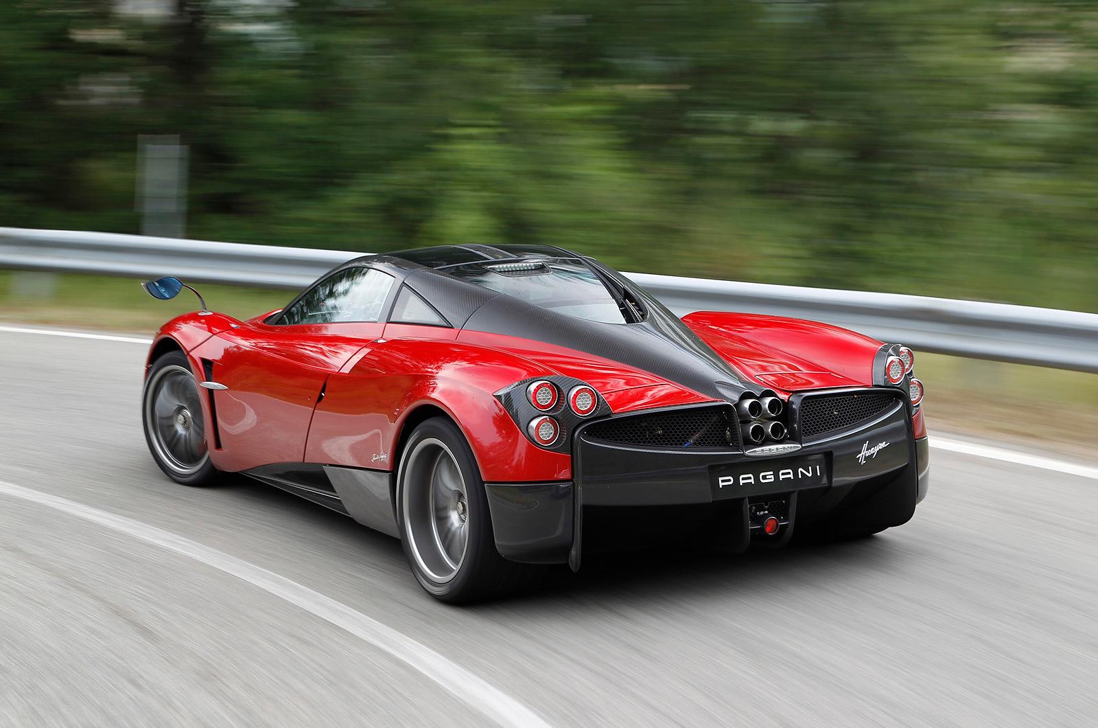 Pagani Huraya >> Car buying expert: Angelina Jolie and Pagani Huayra