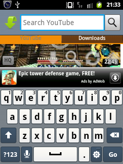 SC20120113 213303 Download youtube videos in android by tube god or Easytube