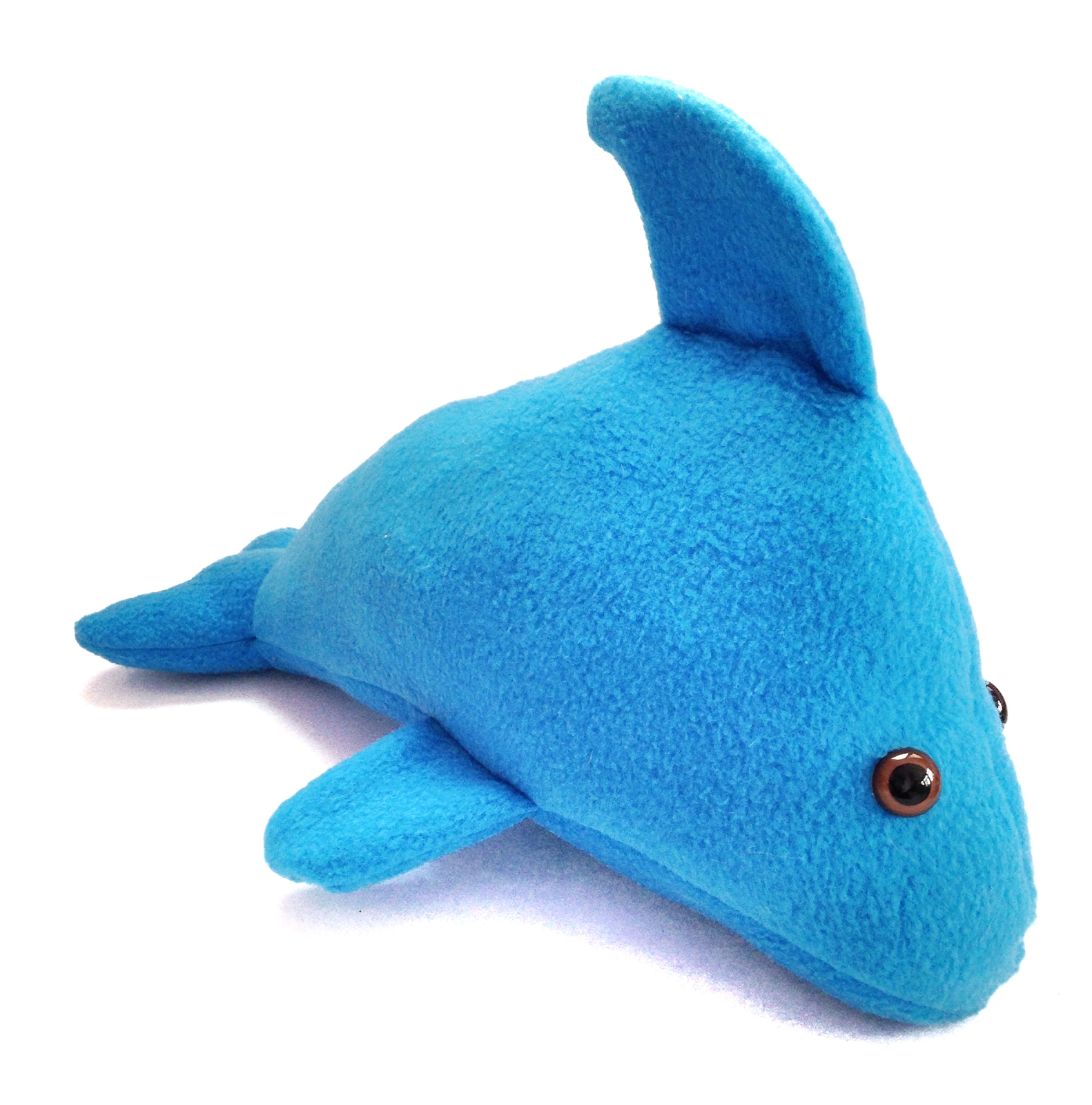 plush dolphin animal sewing pattern