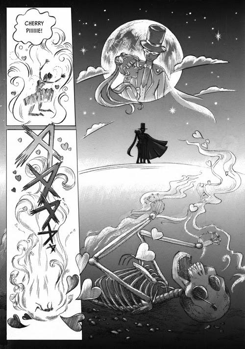 Sailor Moon vs Cherry Pie comic page 1