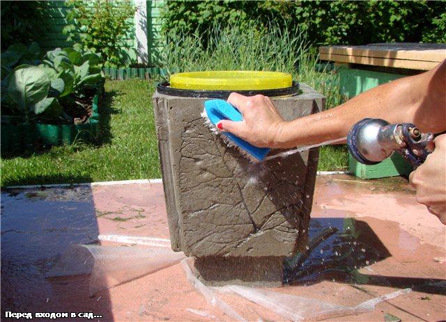 Поделки своими руками из бетона фото