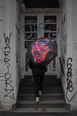 Choke Urban Creation Umbrellas by PaperMonster