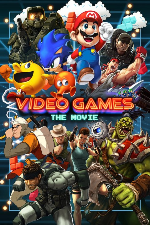 Filme Video Games The Movie Legendado AVI HDRip