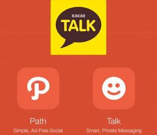 Path Resmi Dibeli Kakao Talk