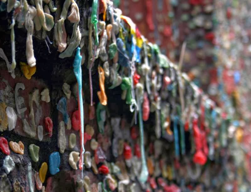 The Chewing Gum Wall | Seattle, USA