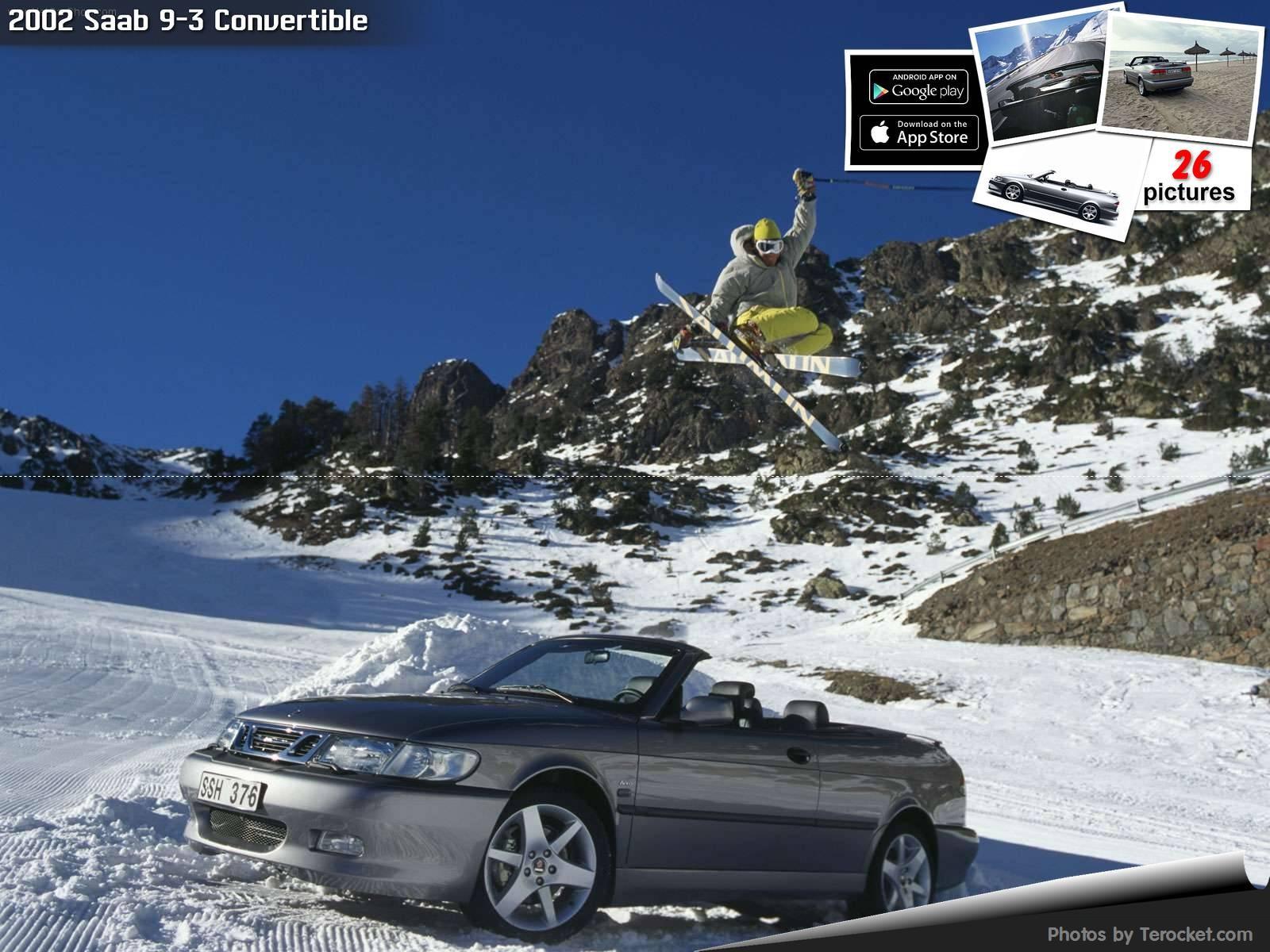 Hình ảnh xe ô tô Saab 9-3 Convertible 2002 & nội ngoại thất