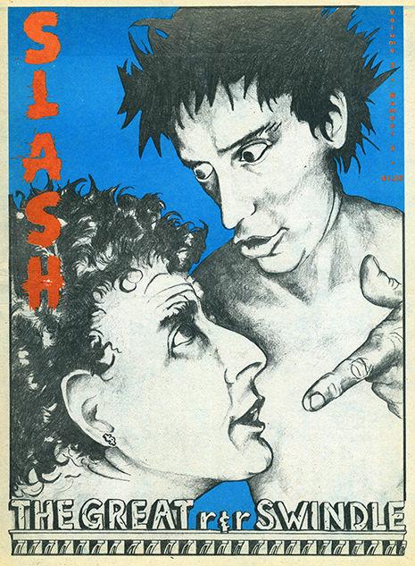 Las portadas de la Slash Magazine | LasMilVidas