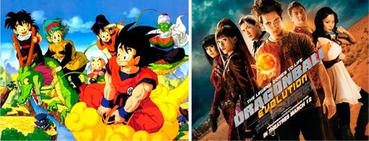 Serie animada y película de 'Son Goku', Series llevadas al cine