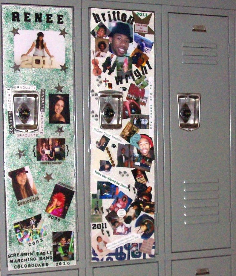 more senior week lockers