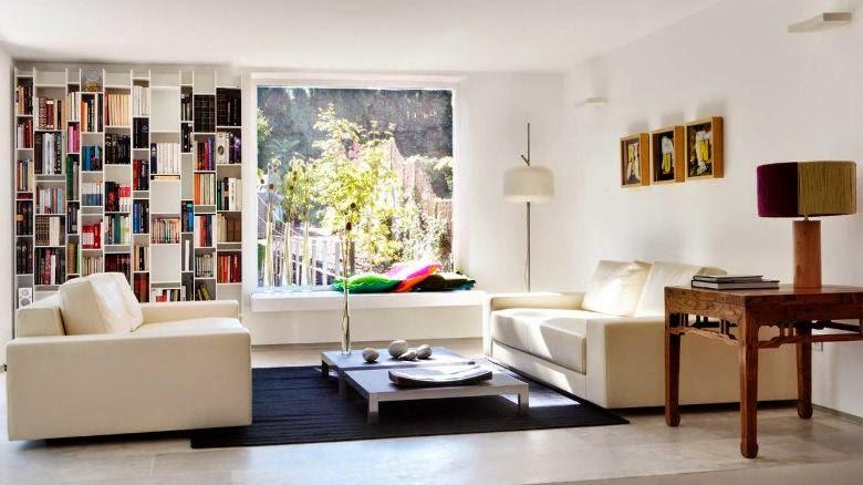 sofa blanco de diseño