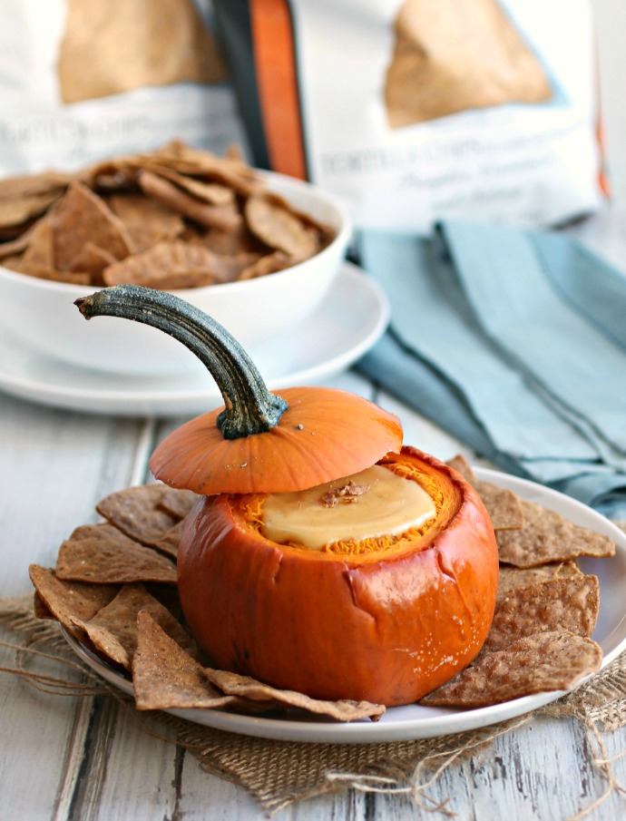 Cheesy Pumpkin Fondue