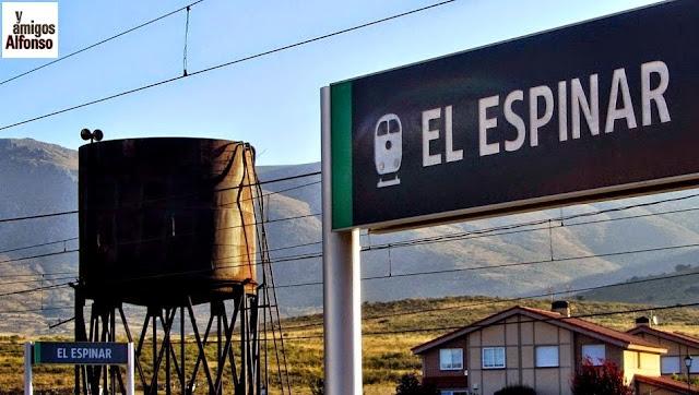 Estación de El Espinar - AlfonsoyAmigos