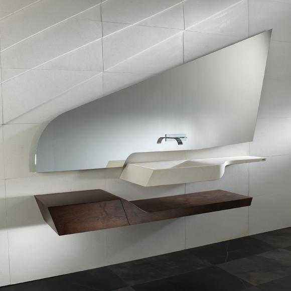 Para tu cuarto de ba o lavabos dise os modernos y for Cuartos de bano elegantes