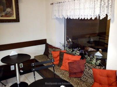 Bistrô da Chapada Café: Ambiente interno