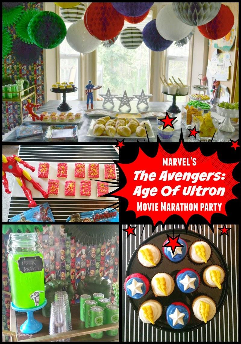 MARVEL Avengers: Age of Ultron Movie Marathon Party