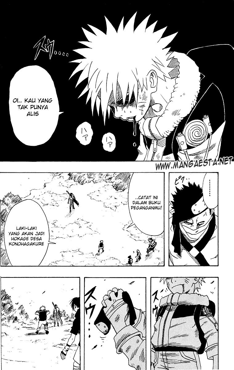 Baca Manga, Baca Komik, Naruto Chapter 13, Naruto 13 Bahasa Indonesia, Naruto 13 Online