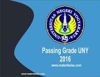 Passing Grade UNY 2016