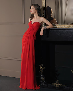 Charming Sheath/Column Strapless Beading Floor-length Chiffon Prom Dresses
