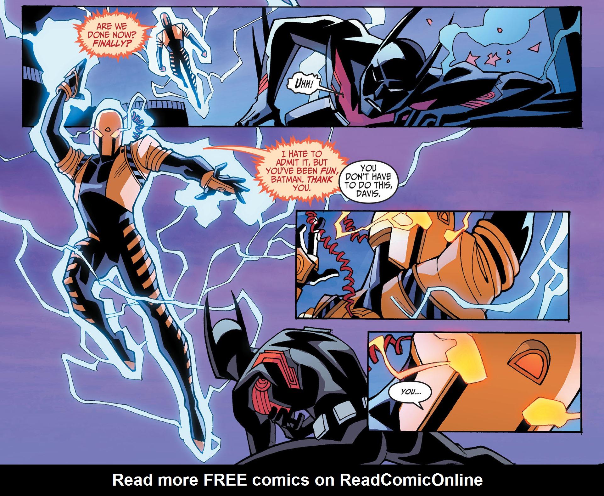 Batman Beyond 2.0 #8 #33 - English 12