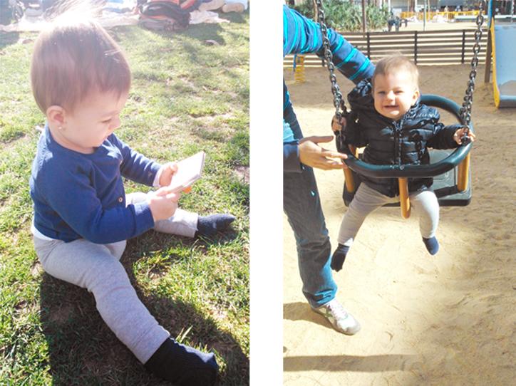 claudia-jugando-en-el-columpio-y-en-el-parque-hansel-y-greta