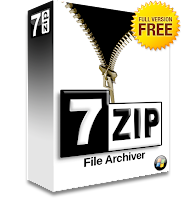فك ضغط الملفات المضغوطه 7.zip