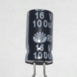 Kapasitor 100uF 16V