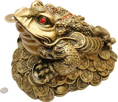 Feng shui para ama de casa - Rana de tres patas feng shui ...