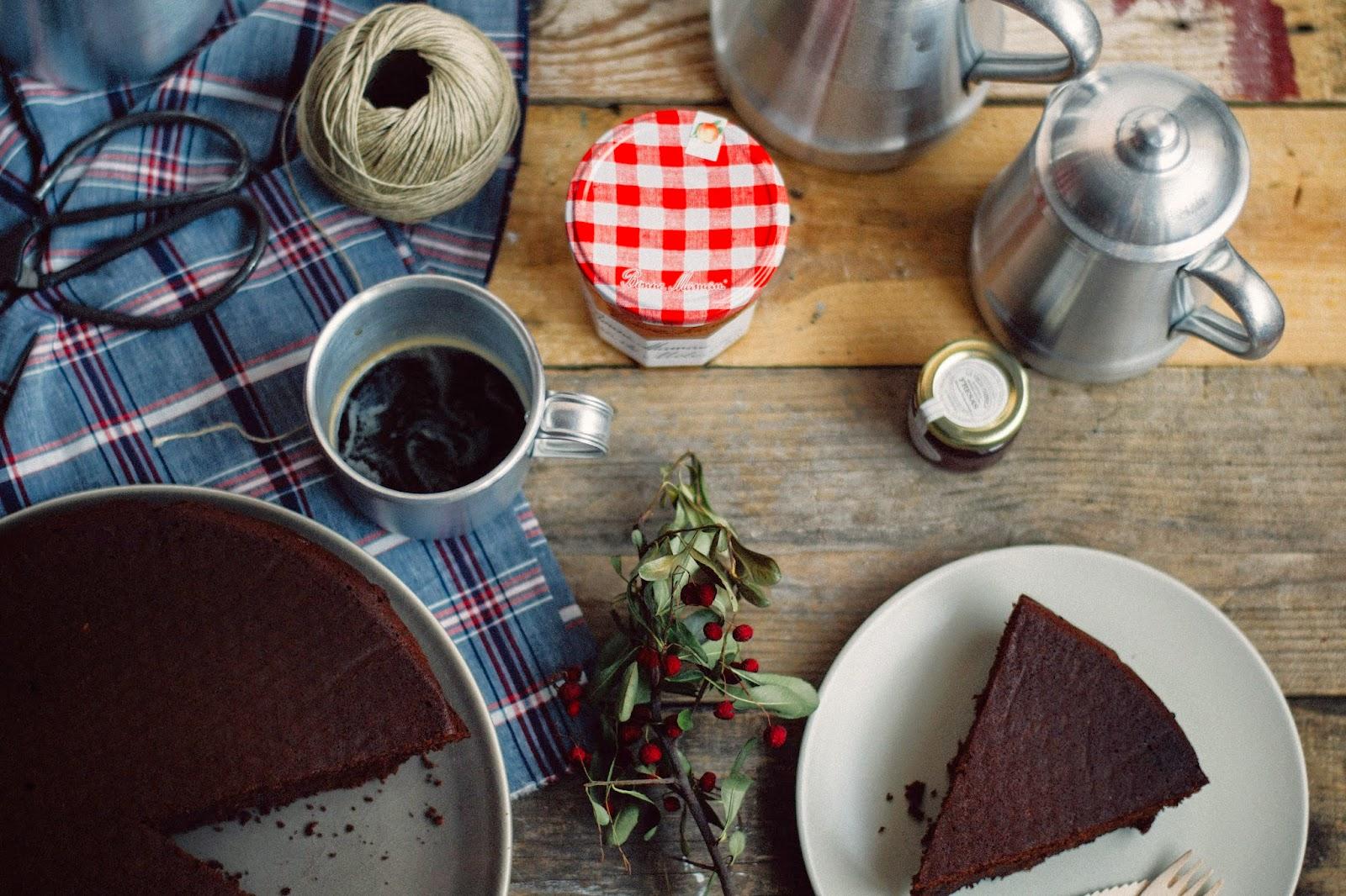 Tarta de chocolate quitapenas