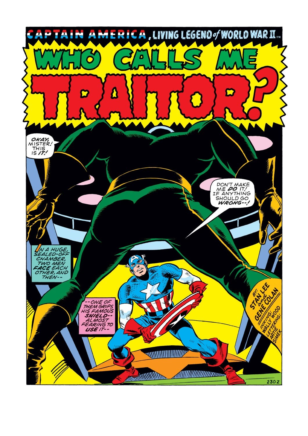 Captain America (1968) Issue #127 #41 - English 2